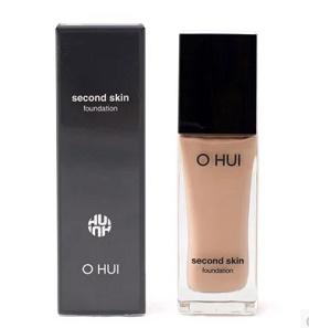 Kem nền che khuyết điểm mỏng mịn Ohui Second Skin Foundation