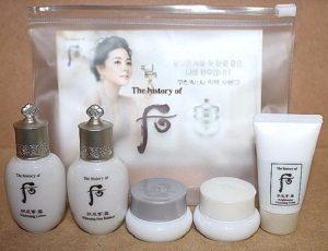 Bộ Whoo Seol Whitening trắng da trị thâm nám 5 sản phẩm