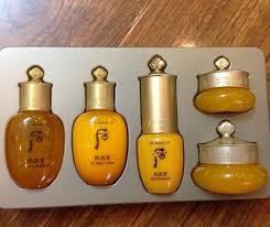 Bộ Whoo vàng Gongjinhyang mini 5 sp dưỡng da săn chắc