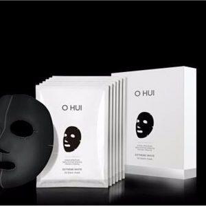 Mặt nạ trắng da Ohui Extreme White 3D Black Mask Snow vitamin