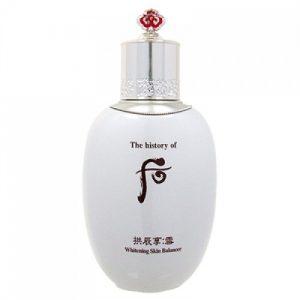 Nước hoa hồng Whoo dưỡng trắng Whitening Skin Balancer