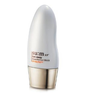 Kem chống nắng Sum37 dành cho da mẫn cảm Sun Away Essential Sun Block SPF42PA+
