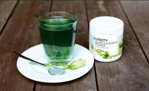 Thực phẩm bảo vệ sức khỏe – Bột Diệp Lục Unicity Super Chlorophyll Powder